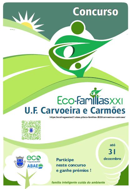 Participe EcoFamilia XXI U. F. Carvoeira e Carmões