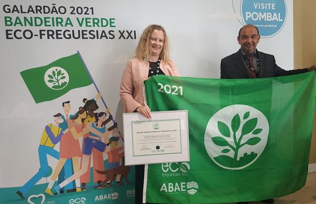 Carvoeira e Carmões galardoada pela Associação Bandeira Azul da Europa – Eco-Freguesia XXI